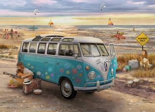 Eur-6000-5310,The love $ hope vw bus - giordano - puzzel - eurographics - 1000 - 48 x 68
